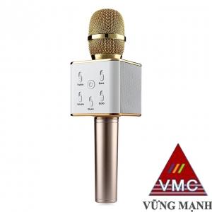 Micro hát Karaoke tích hợp loa bluetooth cho điện thoại Tuxun Q7