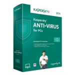 Kaspersky Anti-Virus 2014 3 PC